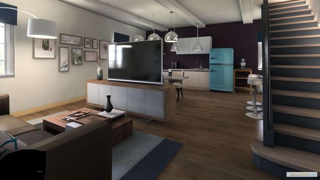 Rustico Nocchi piano secondo e terzo Living and Dining Room 14 risultato