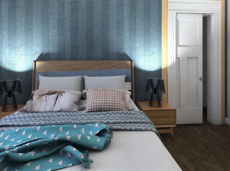 Villetta acquarello piano primo Master Bedroom 3 risultato Sell with us